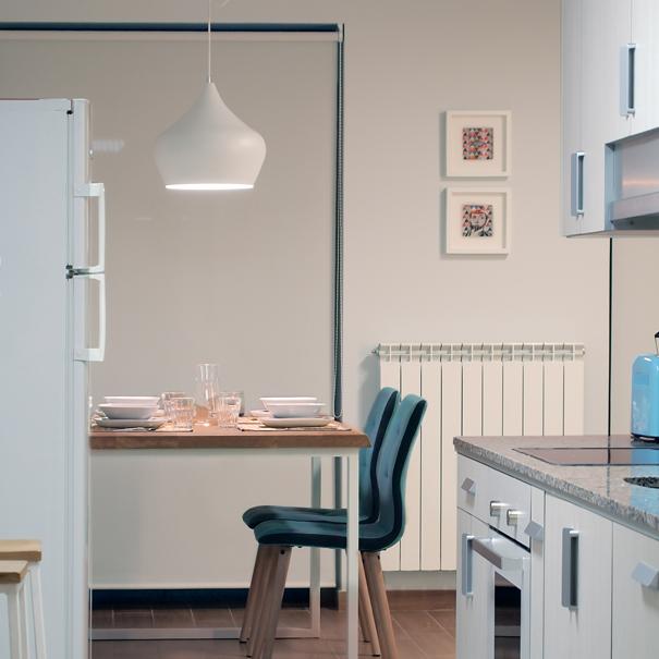 Apartamento Estella-Lizarra I comedor desde cocina