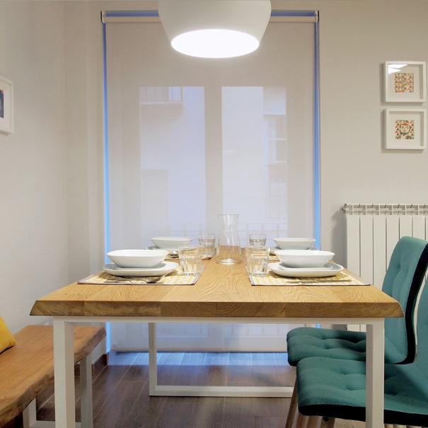 Apartamento Estella-Lizarra I mesa comedor