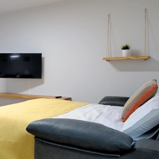 Apartamento Estella-Lizarra I sofa  tv cama 150