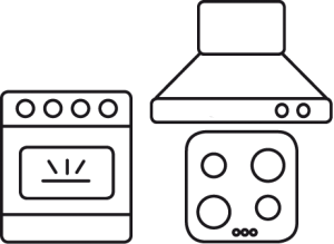 icono horno y vitroceramica induccion