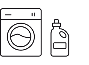 icono lavadora y jabon