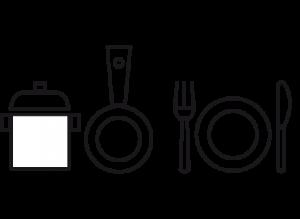 icono menaje cocina
