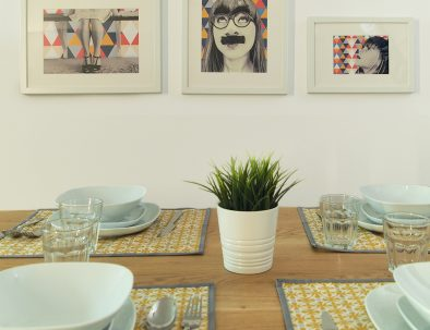 Foto mesa salón